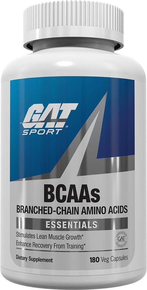 GAT Sport BCAAs - 180 Capsules