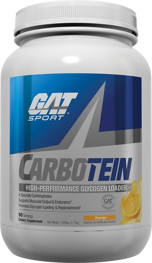 GAT Sport Carbotein - 3.85lbs Orange