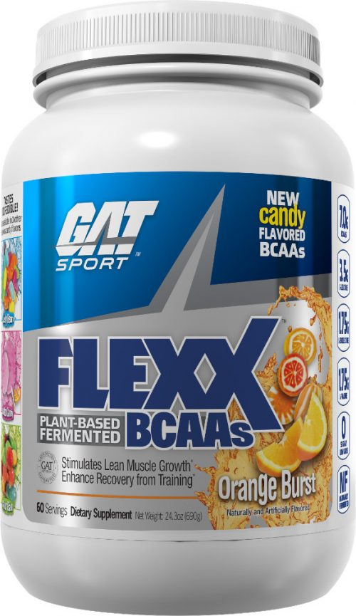 GAT Sport Flexx BCAAs - 60 Servings Orange Burst