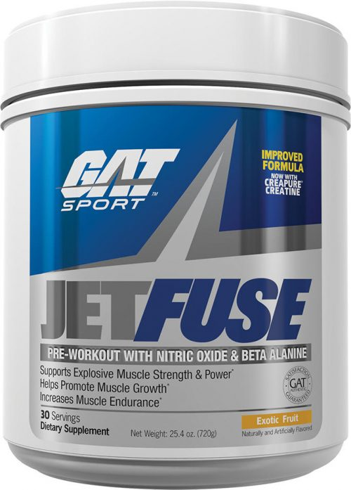 GAT Sport JETFUSE - 30 Servings Exotic Fruit