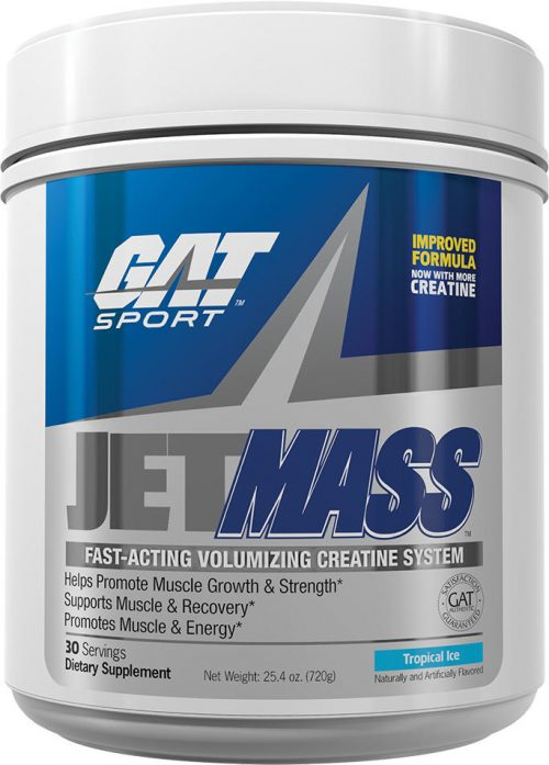 GAT Sport JetMASS - 30 Servings Tropical Ice