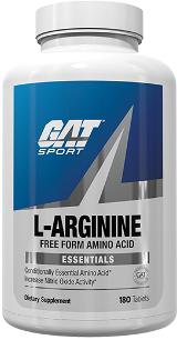 GAT Sport L-Arginine - 180 Capsules