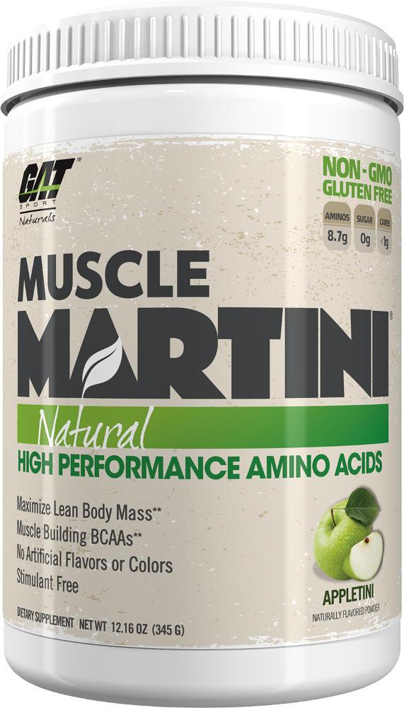 GAT Sport Muscle Martini Natural - 30 Servings Appletini