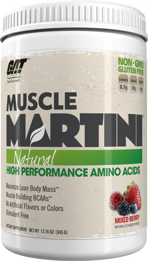GAT Sport Muscle Martini Natural - 30 Servings Mixed Berry