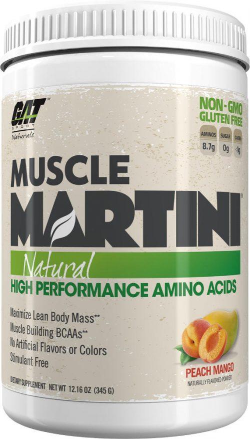 GAT Sport Muscle Martini Natural - 30 Servings Peach Mango