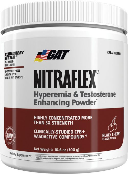 GAT Sport Nitraflex - 30 Servings Black Cherry