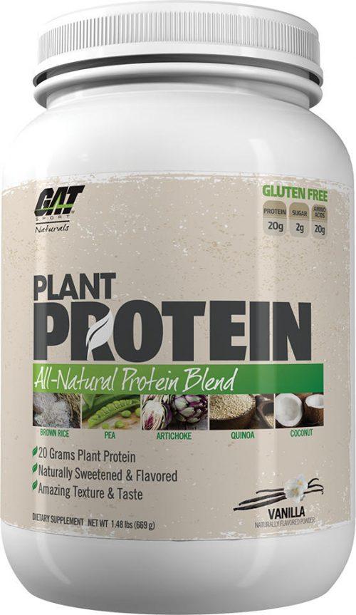 GAT Sport Plant Protein - 20 Servings Vanilla