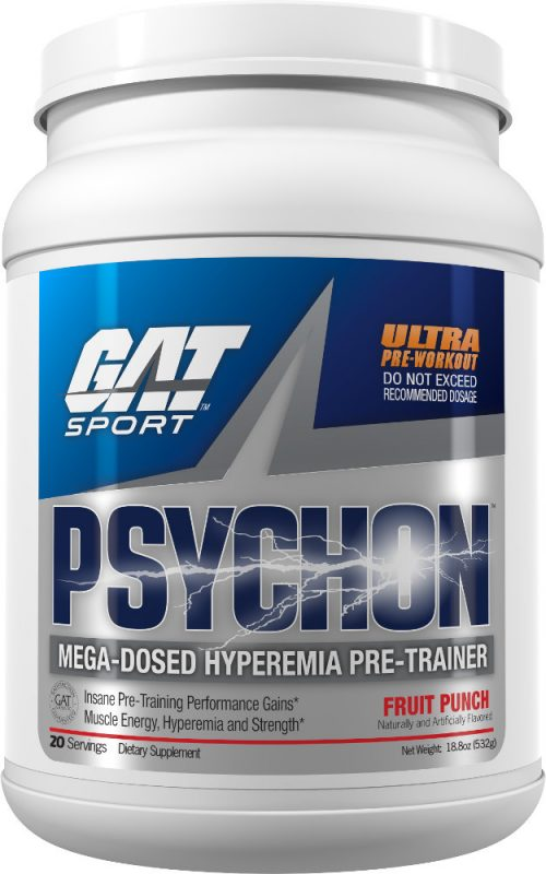 GAT Sport Psychon - 20 Servings Fruit Punch