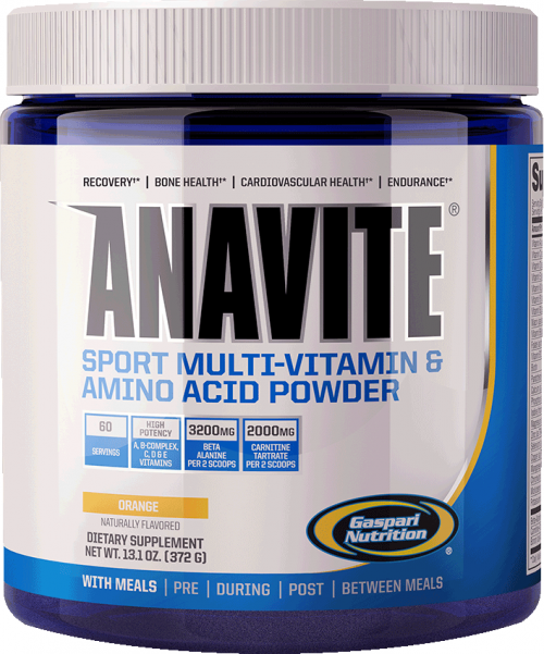 Gaspari Nutrition Anavite - 372g Orange