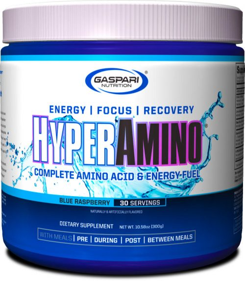 Gaspari Nutrition Hyper Amino - 30 Servings Blue Raspberry