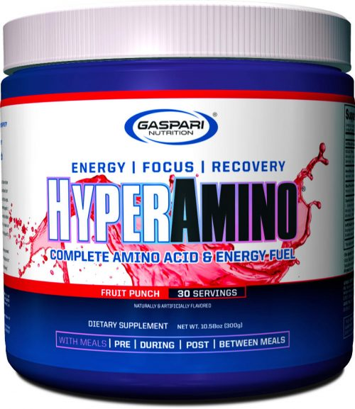 Gaspari Nutrition Hyper Amino - 30 Servings Fruit Punch
