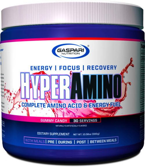 Gaspari Nutrition Hyper Amino - 30 Servings Gummy Candy