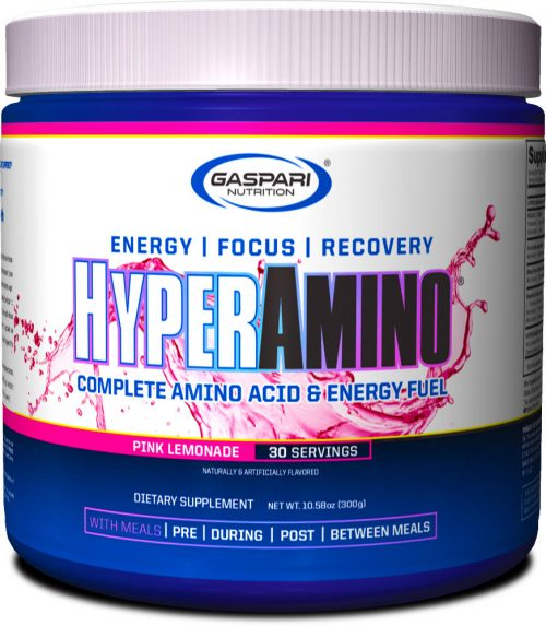 Gaspari Nutrition Hyper Amino - 30 Servings Pink Lemonade
