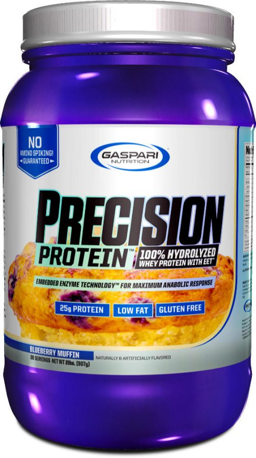 Gaspari Nutrition Precision Protein - 28 Servings Blueberry Muffin