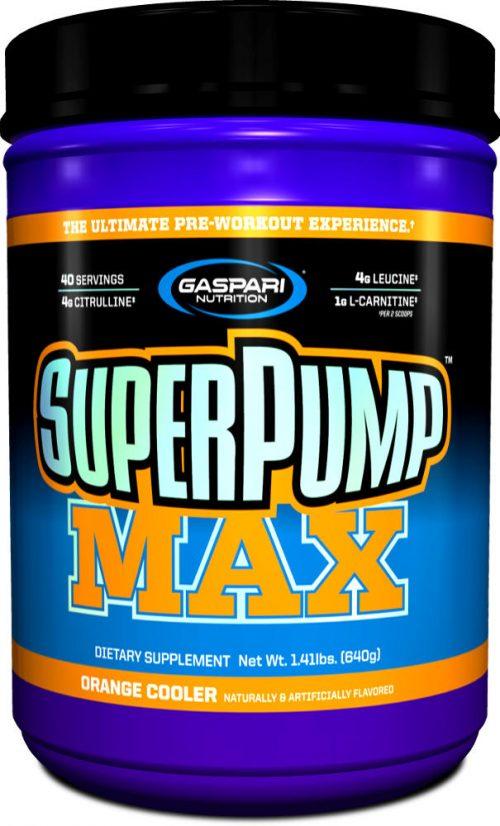 Gaspari Nutrition SuperPump MAX - 40 Servings Orange Cooler