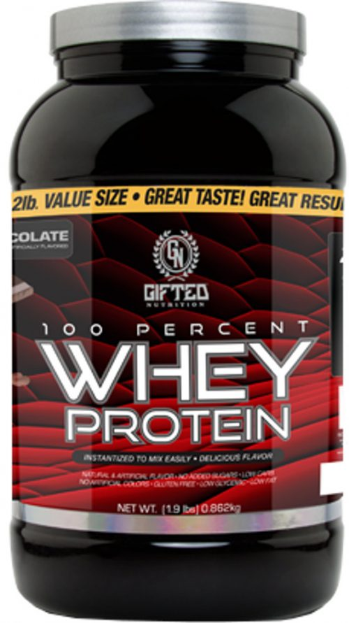 Gifted Nutrition 100% Whey Protein - 1.9lbs Chocolate