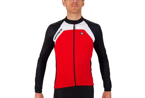 Giordana Silverline Long Sleeve Jersey - Men's - red, medium