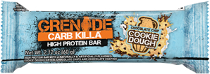 Grenade Carb Killa Bars - 1 Bar Chocolate Chip Cookie Dough