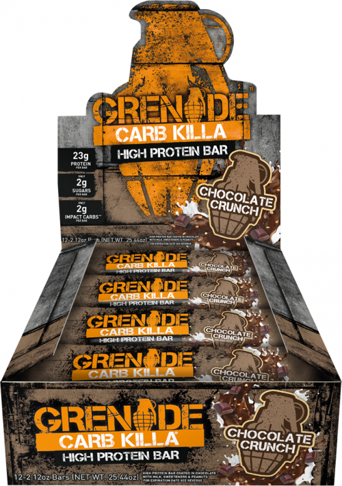 Grenade Carb Killa Bars - Box of 12 White Chocolate Cookie