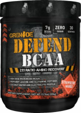 Grenade Defend BCAA - 30 Servings Strawberry Mango