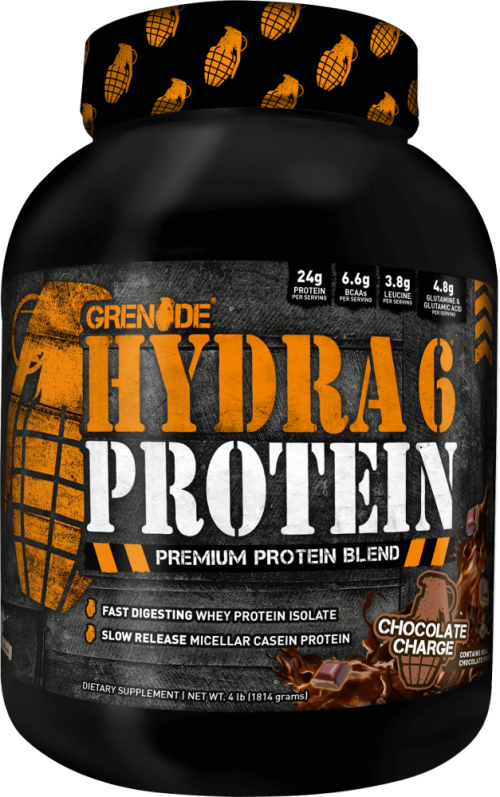 Grenade Hydra 6 - 4lbs Chocolate Charge