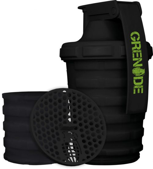 Grenade Shaker - 20 oz Black