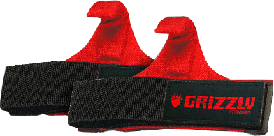 Grizzly Fitness Power Claw Lifting Hooks - 1 Pair