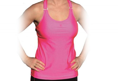 Heart&Core Ultimate Support Tank - neon pink - size 42, 42dd