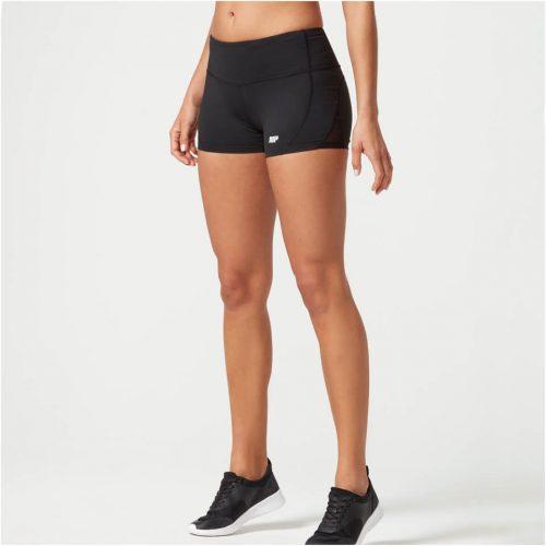 Heartbeat Shorts - Black - XS