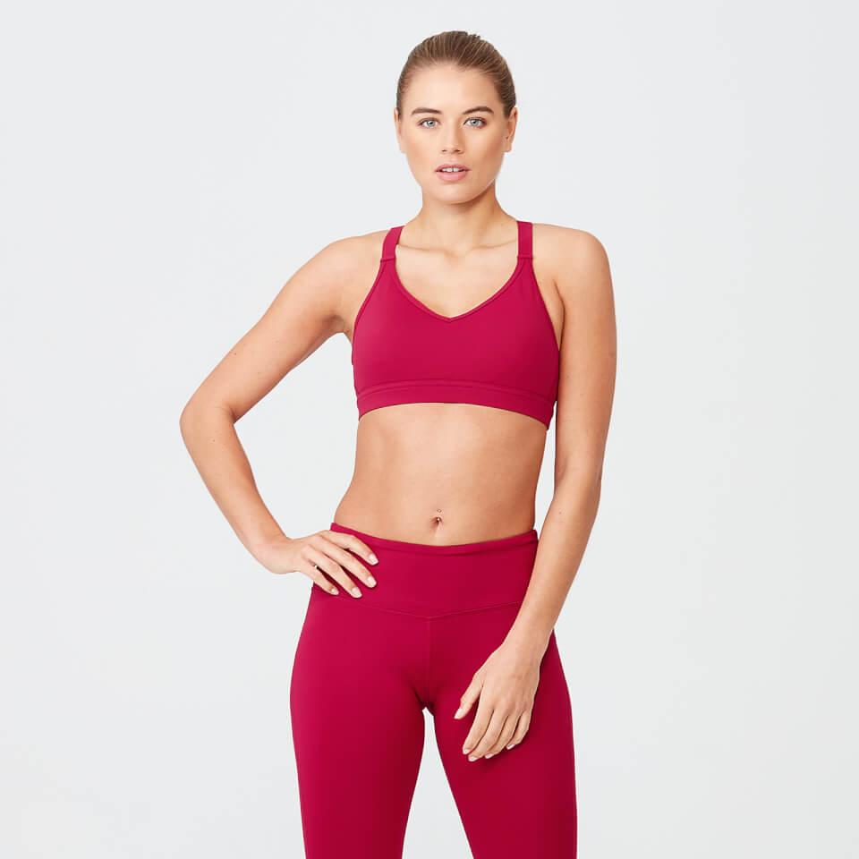 Heartbeat Sports Sports Bra - Red - XS
