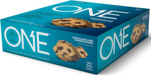 ISS Oh Yeah! ONE Bar - Box of 12 Chocolate Chip Cookie Dough