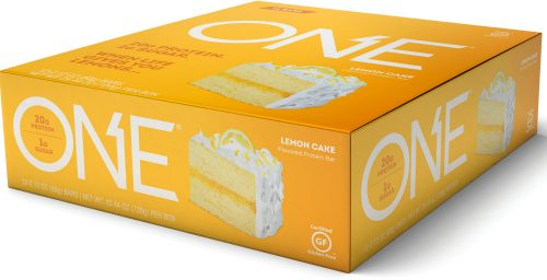ISS Oh Yeah! ONE Bar - Box of 12 Lemon Cake