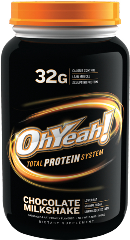 ISS Oh Yeah! Total Protein System - 2.4lbs Chocolate Milkshake
