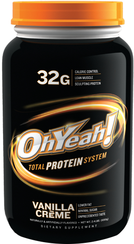 ISS Oh Yeah! Total Protein System - 2.4lbs Vanilla Creme