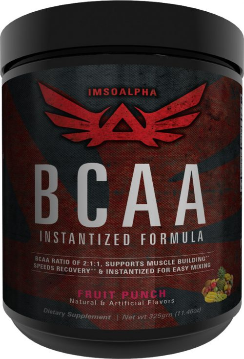 ImSoAlpha Instantized BCAA - 50 Servings Fruit Punch