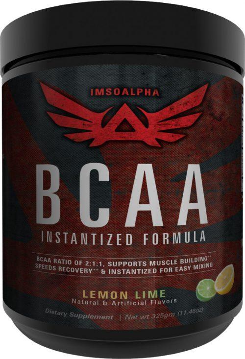 ImSoAlpha Instantized BCAA - 50 Servings Lemon Lime