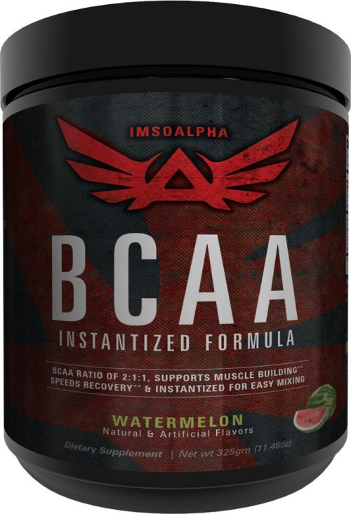 ImSoAlpha Instantized BCAA - 50 Servings Watermelon