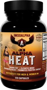 ImSoAlpha iX3 Alpha Heat - 120 Capsules