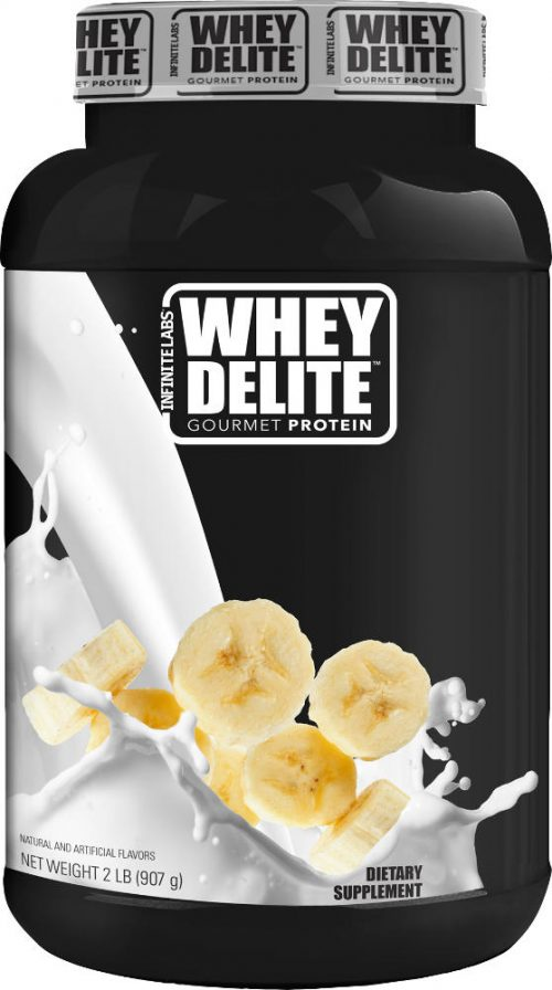Infinite Labs Whey Delite - 2lbs Bananas & Cream