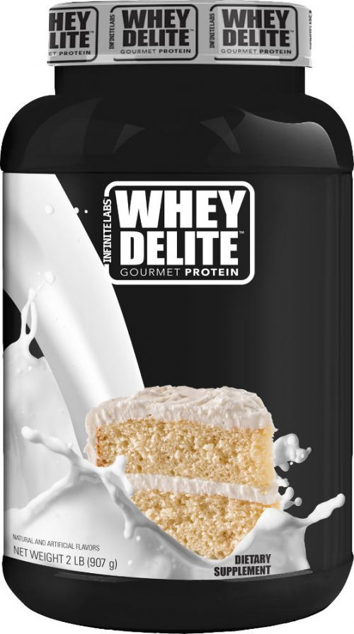 Infinite Labs Whey Delite - 2lbs Cake Batter