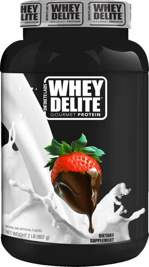 Infinite Labs Whey Delite - 2lbs Chocolate Covered Strawberry
