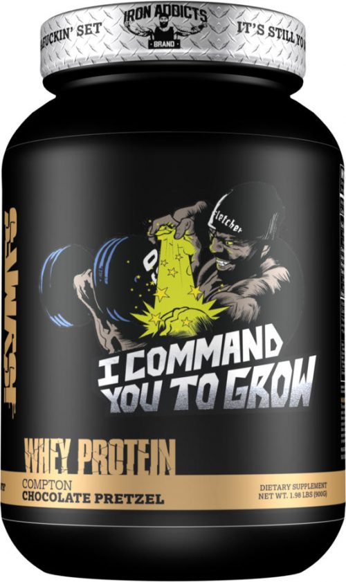 Iron Addicts I Command You To Grow - 28 Servings Compton Chocolate Pre