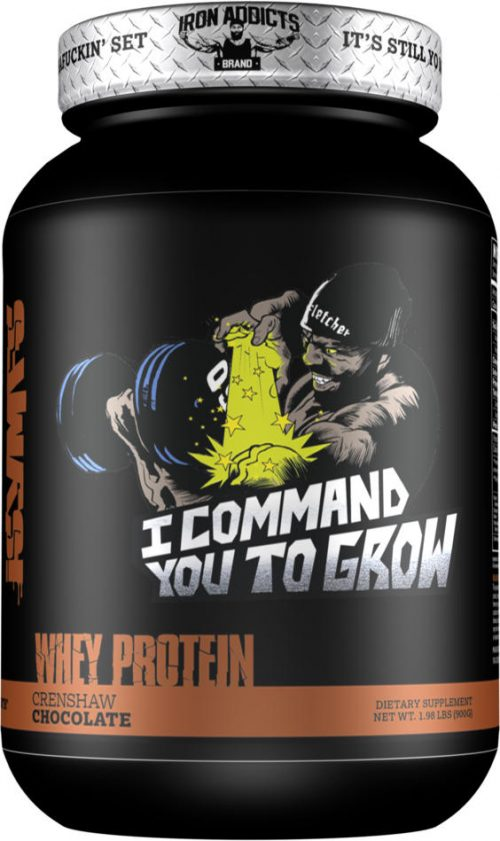 Iron Addicts I Command You To Grow - 28 Servings Crenshaw's Chocolate