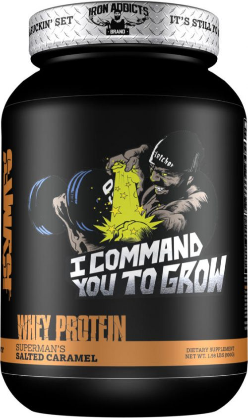 Iron Addicts I Command You To Grow - 28 Servings Superman's Salted Car