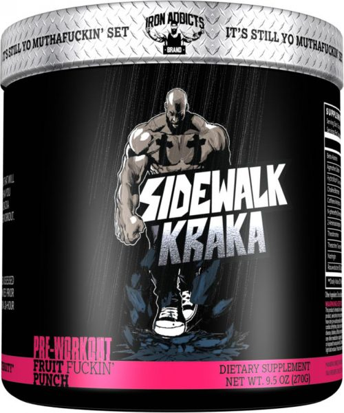 Iron Addicts Sidewalk Kraka - 30 Servings Fruit F*ckin Punch