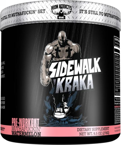 Iron Addicts Sidewalk Kraka - 30 Servings Muthaf*ckin Watermelon