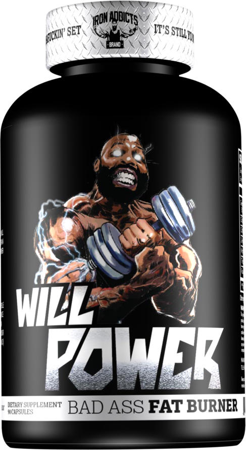 Iron Addicts Will Power - 60 Capsules