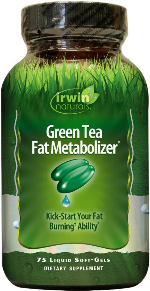 Irwin Naturals Green Tea Fat Metabolizer - 75 Softgels