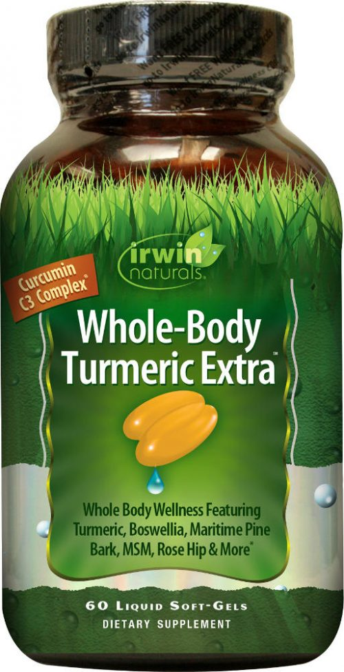 Irwin Naturals Whole Body Turmeric - 60 Softgels