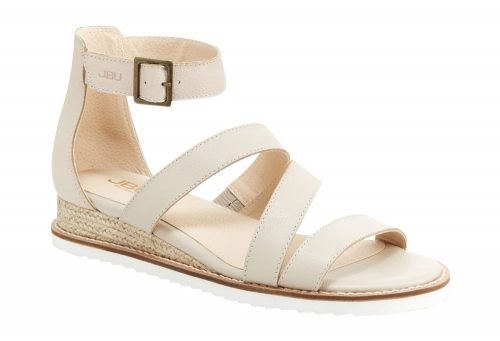 JBU Riviera Sandals - Women's - nude solid, 8